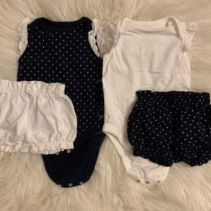 💛STILL ONLINE!!! Baby Girl Gap Outfit Bundle